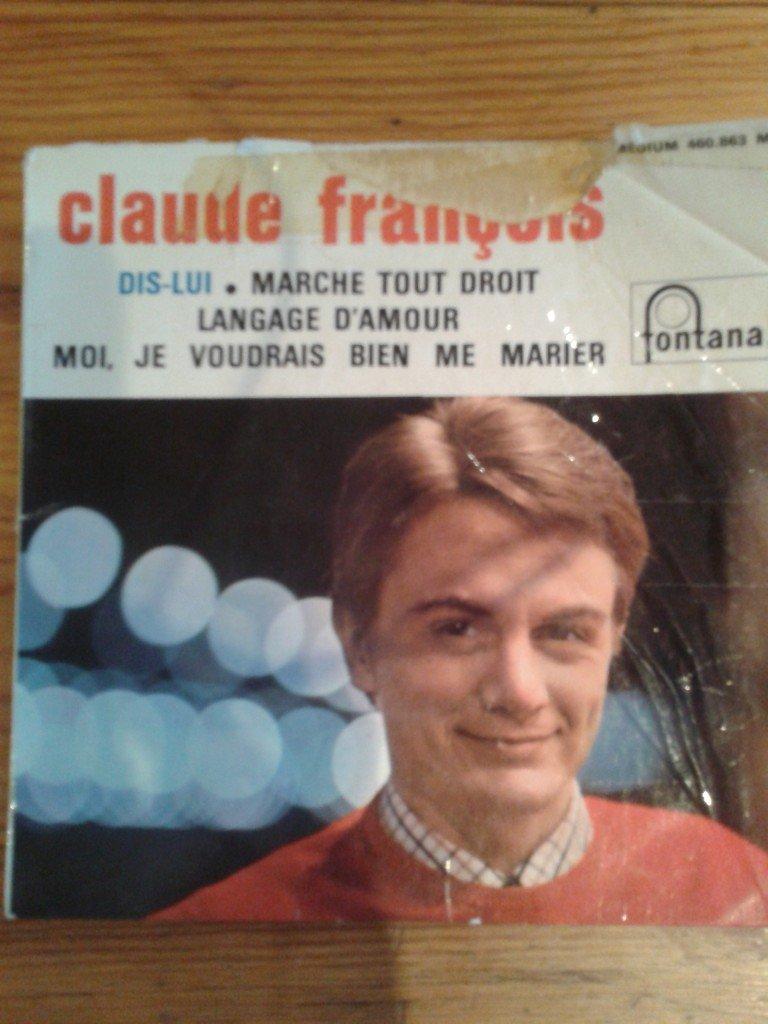 Claude François - Un Peu D'Amour Beaucoup De Haine / Stop Au Nom De L'Amour